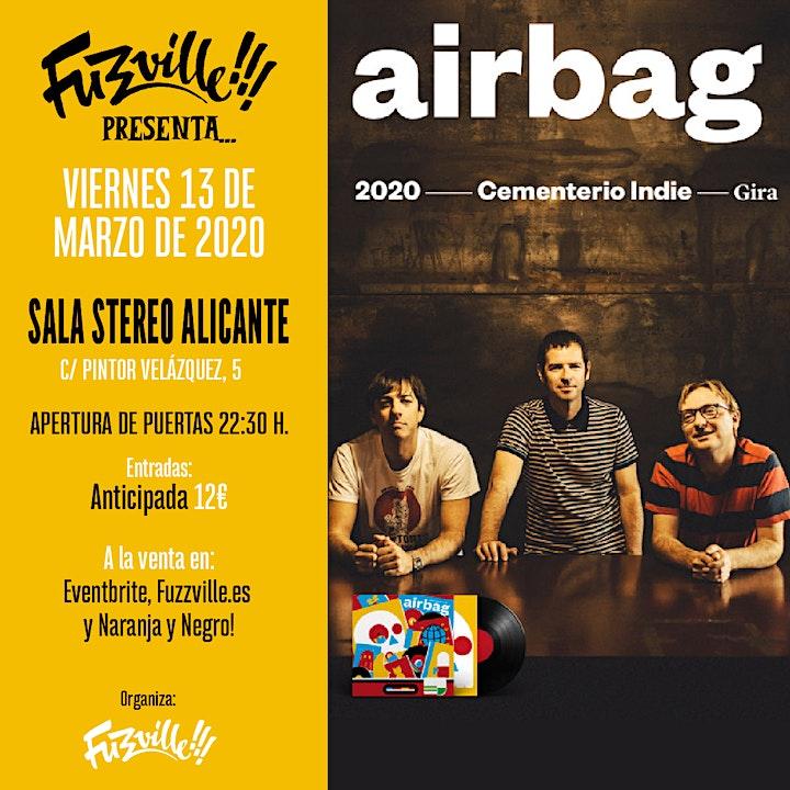 Imagen de Airbag en Alicante. Sala Stereo