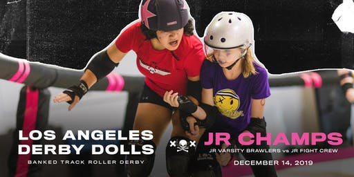 JUNIOR DERBY DOLL CHAMPIONSHIPS: Jr Fight Crew vs Jr Varsity Brawlers
