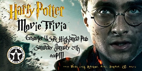 Harry Potter Movies Trivia at Growler USA Highlands Pub tickets