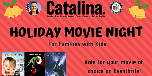Holiday Movie Night / Noche de Cine