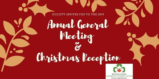 ICCCOTT 2019 ANNUAL GENERAL MEETING AND CHRISTMAS RECEPTION