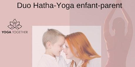 Yoga en duo parent-enfant à Corronsac billets