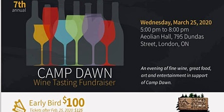 7th Annual Camp Dawn Wine Tasting tickets