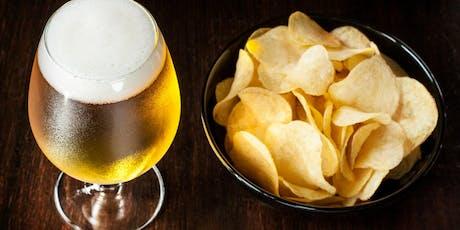 Potato Chip Pairing- Wine vs Beer Tasting tickets