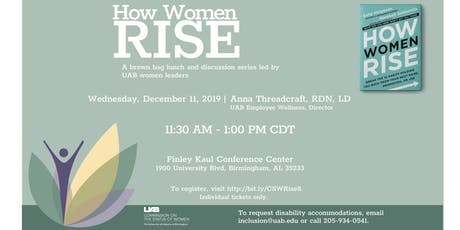 How Women Rise, hosted by the UAB Commission on the Status of Women tickets