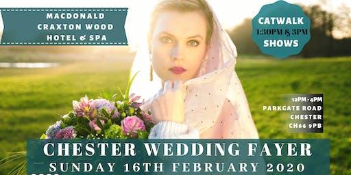 Cheshire & Chester Wedding Fayre at Macdonald Craxton Wood Hotel & Spa