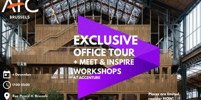 AFC Brussels Presents Exclusive Office Tour @ Accenture