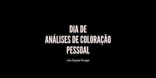 Dia de Análise de Cor em São Paulo - 07 de dezembro