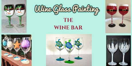 Wine Glass Painting at The Wine Bar tickets