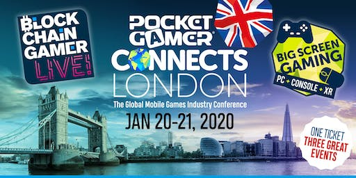 PG Connects London 2020 + Blockchain Gamer LIVE! + Big Screen Gaming