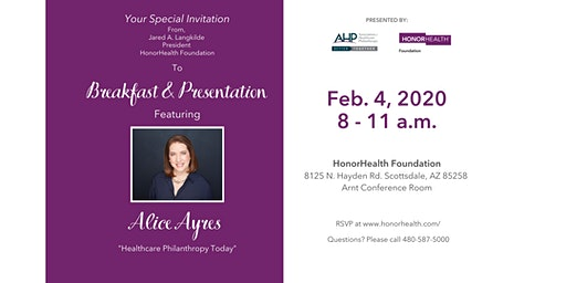 Arizona Non-Profit Healthcare Executives Presentation -FREE