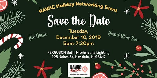 NAWIC 2019 Holiday Networking Social