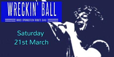 Wreckin' Ball - Springsteen Tribute Live In Brighton tickets