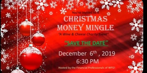 Copy of Christmas Money Mingle wine and cheese Event