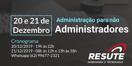 Administração para não administradores ingressos