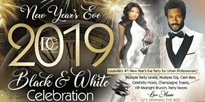 3rd Annual 2019 BLACK & WHITE NEW YEAR'S EVE...