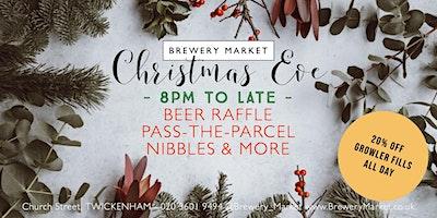 Christmas Craft Beer Bash at Brewery Market!