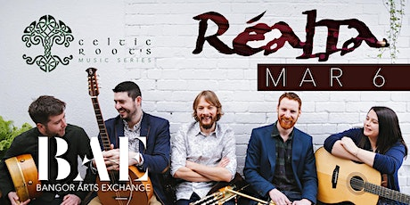 Celtic Roots presents Realta at Bangor Arts Exchange tickets