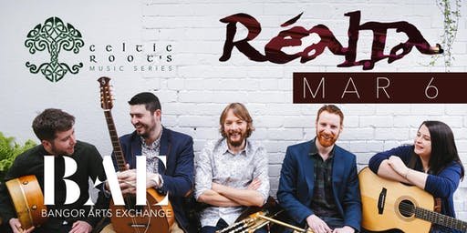 Celtic Roots presents Realta at Bangor Arts Exchange