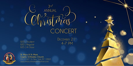3rd Annual SMSM Christmas Concert tickets