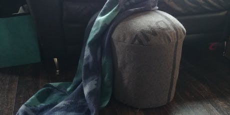 Upcycled Ottoman/Stool workshop tickets