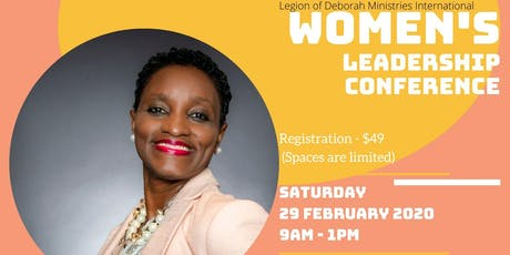 Legion of Deborah Ministries Int'l - Women's Leadership Conference tickets