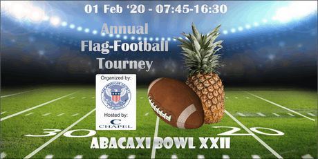 AmSoc XXII Abacaxi Bowl 2020 tickets