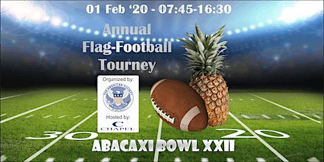 AmSoc XXII Abacaxi Bowl 2020 ingressos
