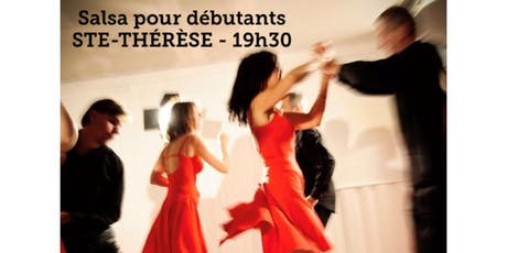STE-THÉRÈSE - Danse SALSA - cours pour débutant 20$ billets