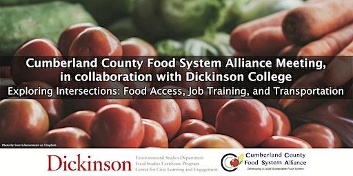 Exploring Intersections: Food Access, Job Training, & Transportation