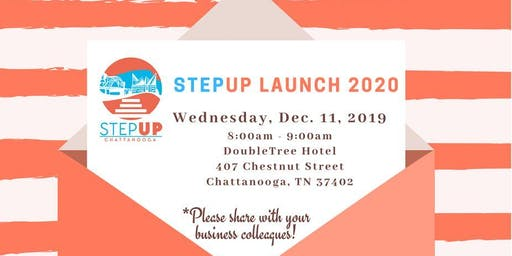 2020 STEP-UP Chattanooga Launch Breakfast-Sponsored by Vision Hospitality