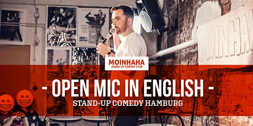 """""""Open Mic in English"""" Stand-Up Comedy Hamburg"""