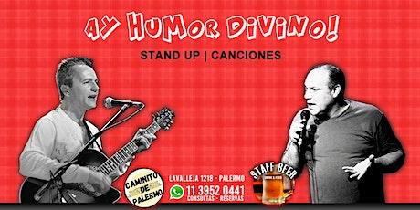 Ay Humor Divino | Stand Up y Canciones de Humor en Staff Beer de Palermo entradas