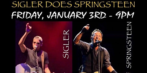 A Night of Bruce Springsteen - A Special Acoustic Tribute By Tim Sigler