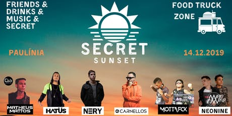 Secret Sunset ingressos