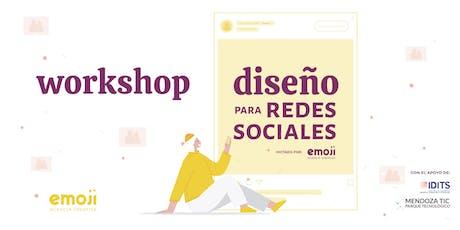 Workshop: Diseño para redes sociales entradas