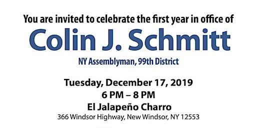 First Year Celebration Fundraiser: Assemblyman Colin Schmitt