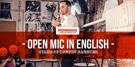 """Open Mic in English"" Stand-Up Comedy Hamburg tickets"