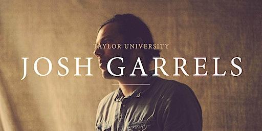 Taylor Student Organization Present: Josh Garrels