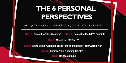 The Six Personal Perspectives (3 Hours CE)
