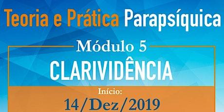 Teoria e Prática Parapsíquica - M5 Clarividência  ingressos