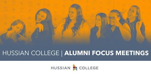 Hussian Alumni Focus Meeting