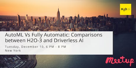 AutoML Vs Fully Automatic: Comparisons between H2O-3 and Driverless AI tickets
