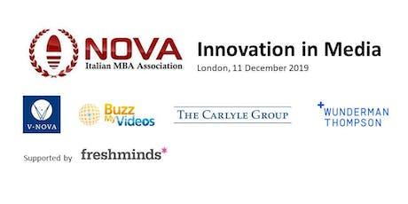 NOVA UK Christmas - Innovation in Media tickets
