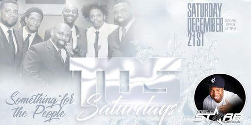 TOS SATURDAYS - ANNUAL WINTER WHITE PARTY