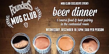 Mug Club Beer Dinner tickets