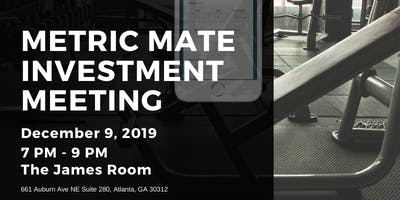 Metric Mate Investor's Meeting