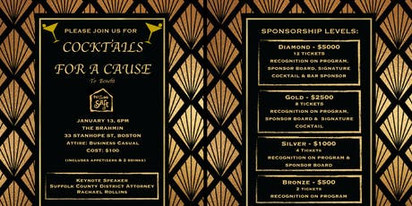 MissionSAFE's Cocktail For A Cause tickets