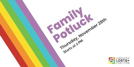 Thanksgiving Family Potluck tickets