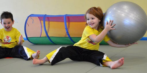2-6 years Little Dragons Classes - ONLY £1 until the end of 2019!
